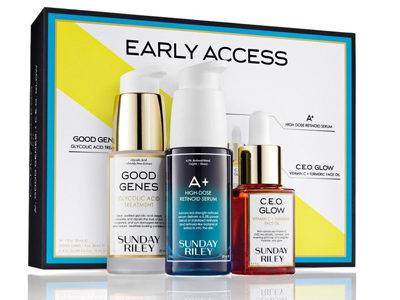 Just In Time for the Holidays: Sunday Riley's Exclusive Early Access Kit