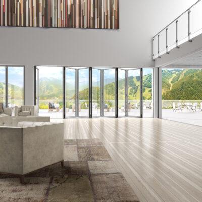 Why Every Property Needs Frameless Folding Glass Doors
