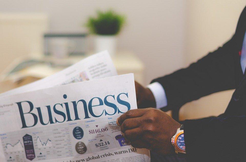 Business, Businessman, Newspaper, Man, News, Male