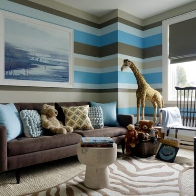 See How Stripes Can Make Your Room Feel Roomier In Minutes